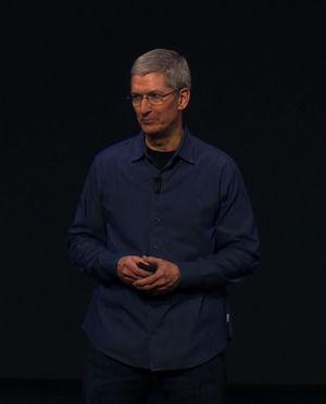 Apple boss